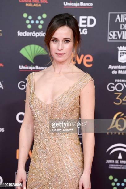 Marta Etura attends the Goya Cinema Awards 2020 during the 34th edition of the Goya Cinema Awards at Jose Maria Martin Carpena Sports Palace on...
