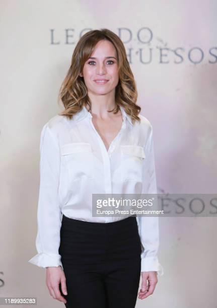 Marta Etura attends the 'Legado en los huesos' photocall at Hotel Urso on November 25 2019 in Madrid Spain