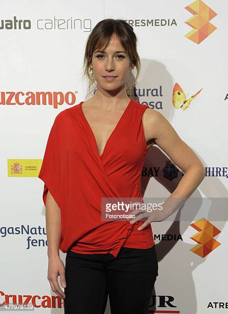 Marta Etura attends the Malaga Film Festival cocktail presentation at TClub on March 11, 2014 in Madrid, Spain.