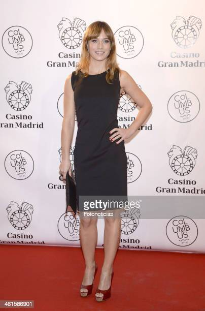 Marta Etura attends the opening of 'Casino Gran Madrid-Colon' on January 9, 2014 in Madrid, Spain.