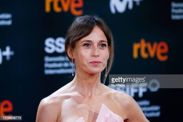 Marta Etura attends the 'Rifkin's Festival' Premiere during the 68th San Sebastian International Film Festival at the Kursaal Palace on September 18,...