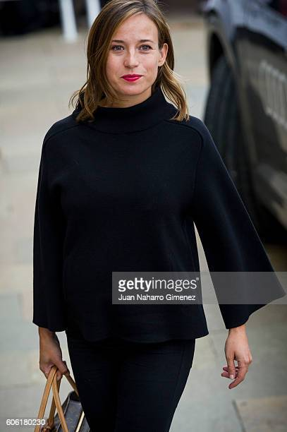 Marta Etura is seen arriving at 64th San Sebastian Film Festival on September 16, 2016 in San Sebastian, Spain.