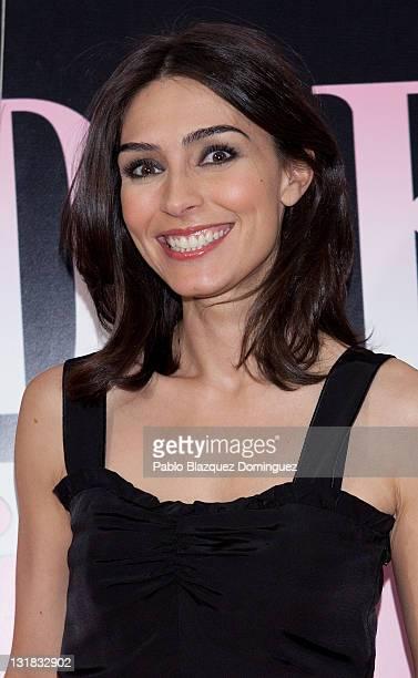 Marta Fernandez attends 'La Gran Depresion' premiere at Infanta Isabel Theatre on May 19, 2011 in Madrid, Spain.