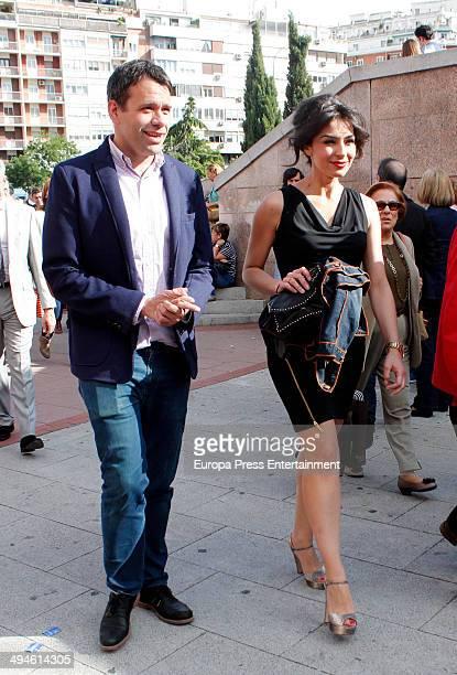 Marta Fernandez attends San Isidro Fair at Las Ventas Bullring on May 29 2014 in Madrid Spain