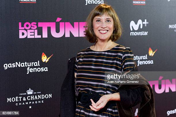 Marta Fernandez Muro attends 'Los Del Tunel' premiere during the Madrid Premiere Week at Callao Cinema on November 21 2016 in Madrid Spain