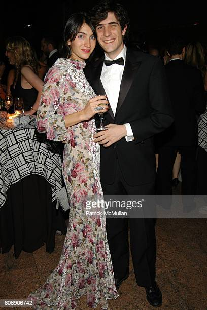 Marta Ferri and Carlo Borromeo attend The Apollo Circle Benefit at The Metropolitan Museum of Art on November 8 2007 in New York City