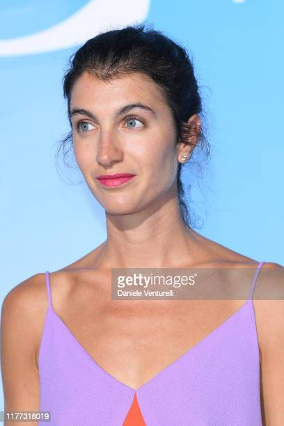 Marta Ferri attends the Gala for the Global Ocean hosted by H.S.H. Prince Albert II of Monaco at Opera of Monte-Carlo on September 26, 2019 in...