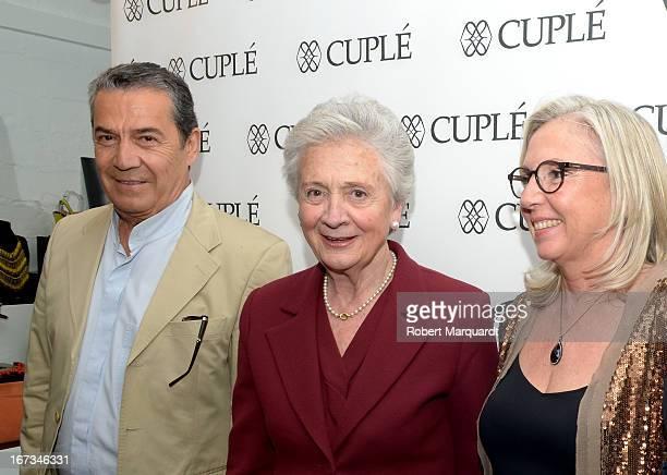 Marta Ferrusola attends the Cuple store opening on April 24 2013 in Barcelona Spain