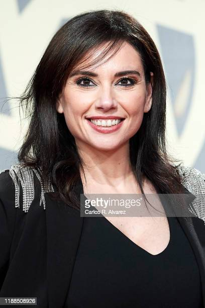Marta Flich attends 'Iris Academia de Television' awards at Nuevo Teatro Alcala on November 18 2019 in Madrid Spain