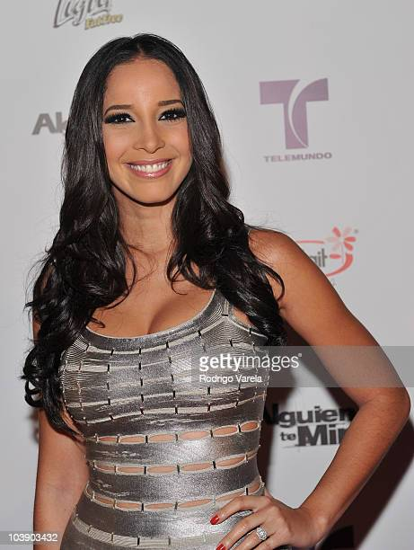 Marta Gonzalez attends screening of Telemundo's Alguien Te Mira at The Biltmore Hotel on September 7 2010 in Coral Gables Florida