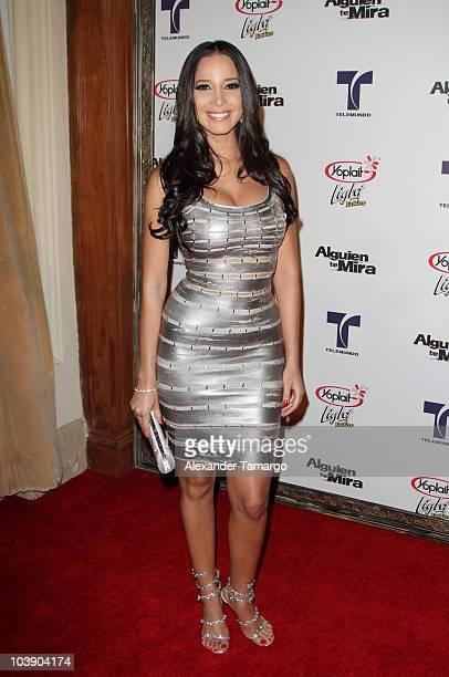 Marta Gonzalez attends screening of Telemundo's 'Alguien Te Mira' at The Biltmore Hotel on September 7 2010 in Coral Gables Florida