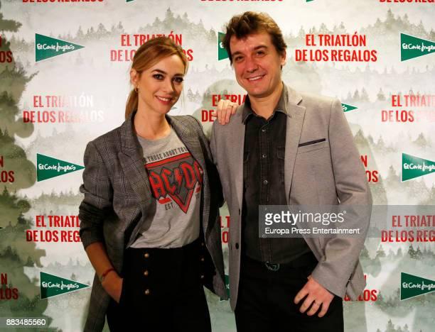 Marta Hazas and Javier Veiga attend the 5th Triathlon Gifts by El Corte Ingles on November 30 2017 in Madrid Spain