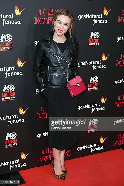 Marta Hazas attends 'El Club de los Incomprendidos' Premiere on December 1 2014 in Madrid Spain