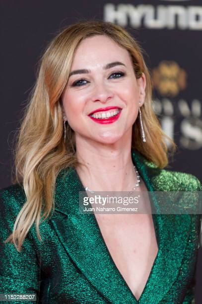 Marta Hazas attends 'Instyle Beauty Awards' 2019 at Real Fabrica de Tapices on May 28 2019 in Madrid Spain