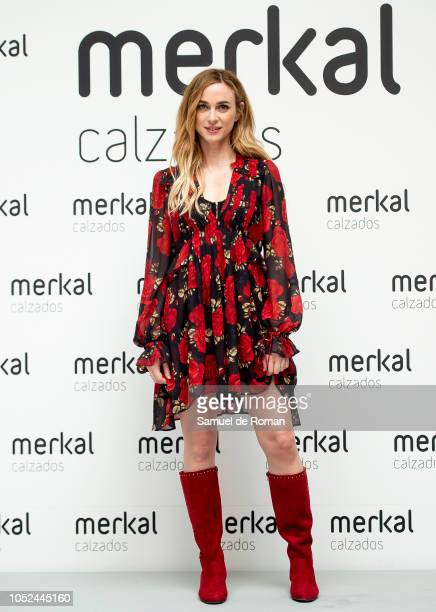 Marta Hazas attends Merkal Flash Presentation in Madrid on October 18 2018 in Madrid Spain