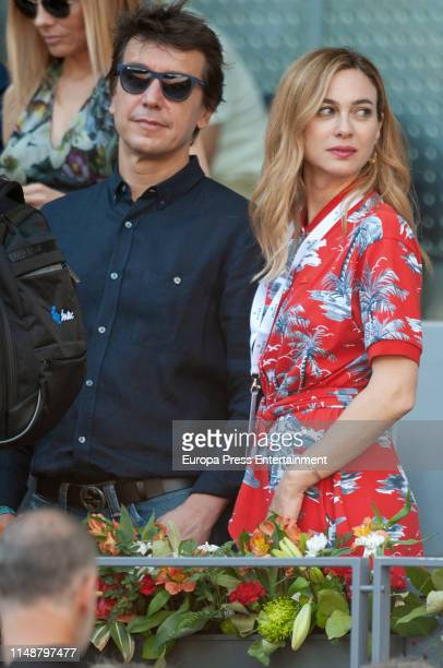 Marta Hazas attends Mutua Madrid Open at Caja Magica on May 12 2019 in Madrid Spain