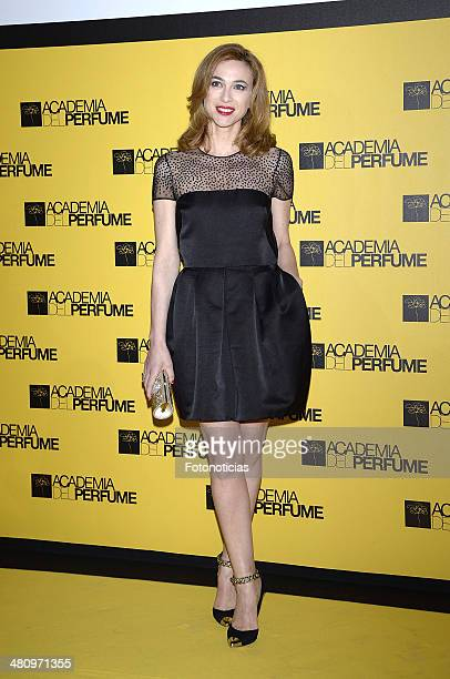Marta Hazas attends the 2014 Perfume Academy awards at Casa de America on March 27 2014 in Madrid Spain