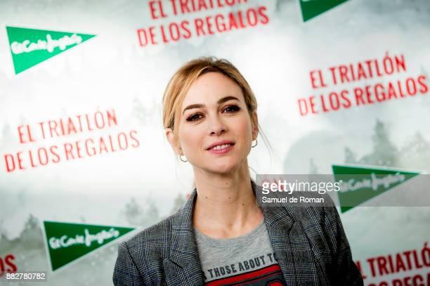 Marta Hazas attends the 5th Triathlon Gifts by El Corte Ingles on November 30 2017 in Madrid Spain