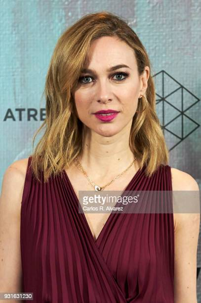 Marta Hazas attends the Atresmedia Studios photocall at the Barcelo Theater on March 13 2018 in Madrid Spain
