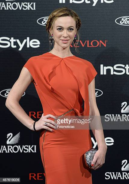 Marta Hazas attends the InStyle Magazine 10th anniversary party at Gran Melia Fenix Hotel on October 21 2014 in Madrid Spain