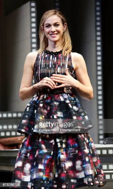 Marta Hazas during the '5 y Accion' play presentation at Reina Victoria theater on November 16 2017 in Madrid Spain