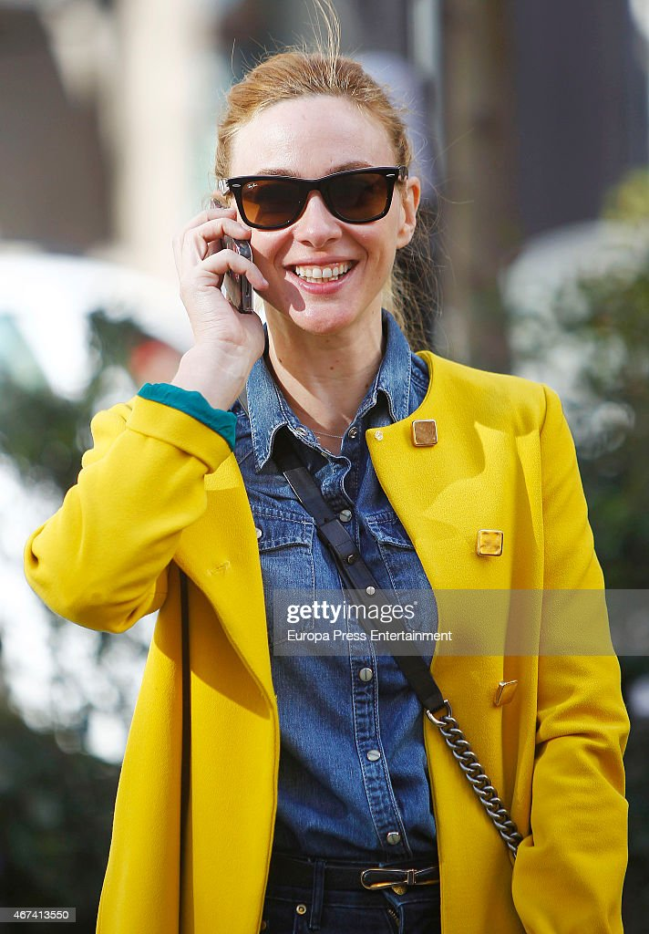 Celebrities Sighting In Madrid - March 10, 2015