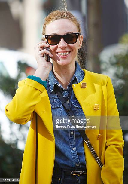 Marta Hazas is seen on March 10 2015 in Madrid Spain