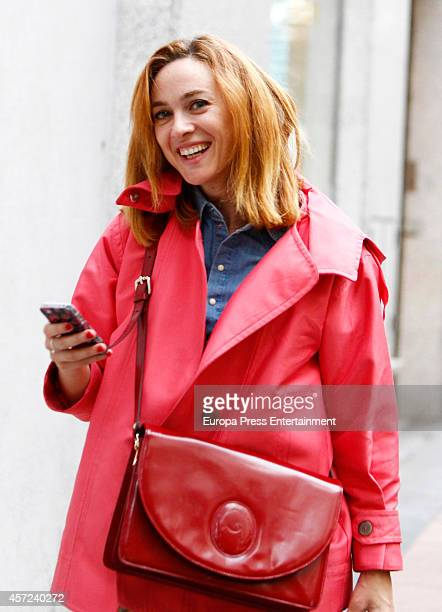 Marta Hazas is seen on October 14 2014 in Madrid Spain