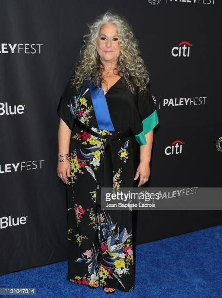 Marta Kauffman attends the Paley Center For Media's 2019 PaleyFest LA Grace And Frankie on March 16 2019 in Los Angeles California