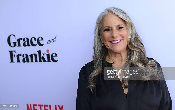 Marta Kauffman attends the Season 2 Premiere of Grace and Frankie in Los Angeles California on May 1 2016 / AFP / CHRIS DELMAS