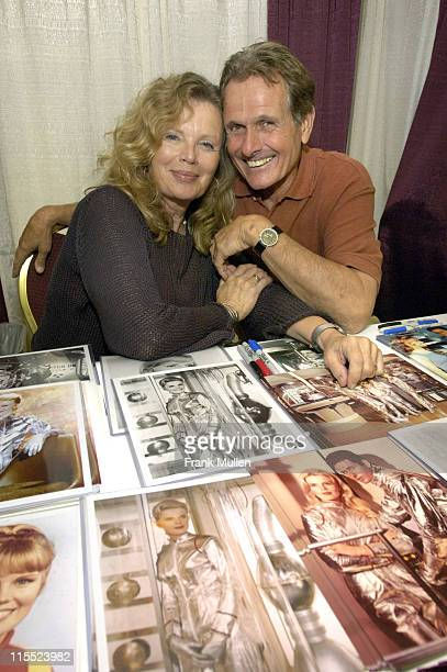 Marta Kristen and Mark Goddard from 'Lost in Space'