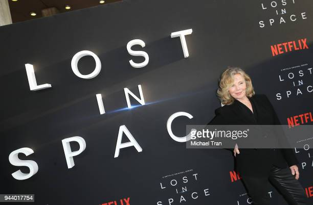 Marta Kristen arrives to the Los Angeles premiere of Netflix's 'Lost In Space' Season 1 held at The Cinerama Dome on April 9 2018 in Los Angeles...