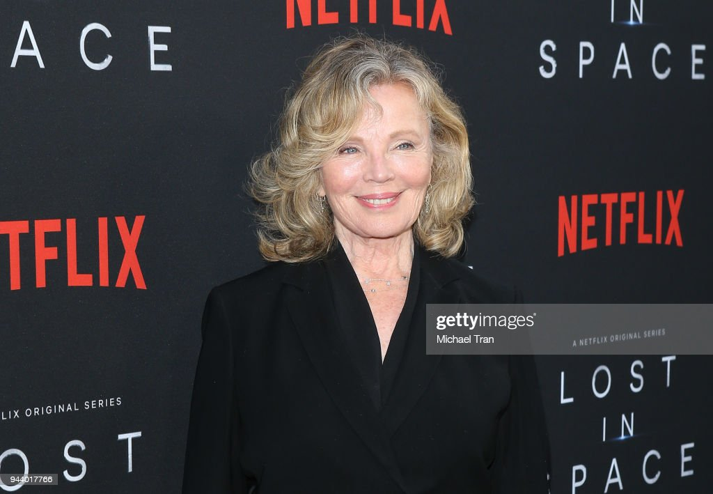 Marta Kristen arrives to the Los Angeles premiere of Netflix's 'Lost In Space' Season 1 held at The Cinerama Dome on April 9, 2018 in Los Angeles, California.