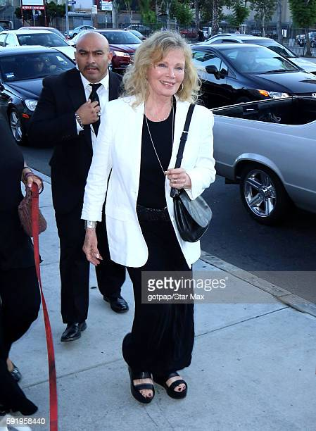 Marta Kristen is seen on August 18 2016 at The Hollywood Museum in Los Angeles California