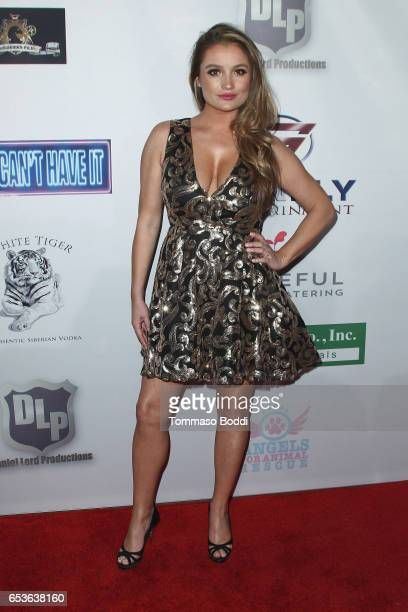 Marta Krupa attends the premiere of Skinfly Entertainment's You Can't Have It at TCL Chinese Theatre on March 15 2017 in Hollywood California