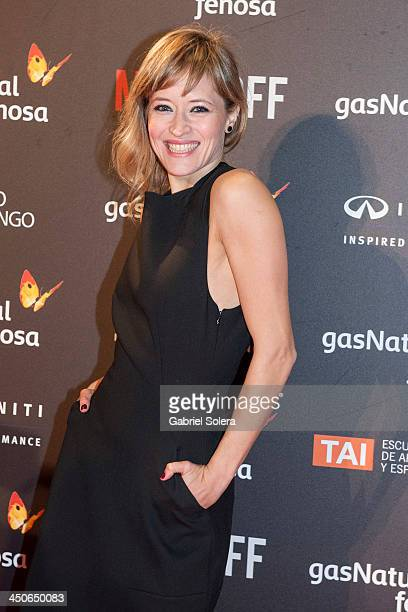 Marta Larralde attends '10000 Noches en Ninguna Parte' Madrid Premiere at Callao cinema on November 19 2013 in Madrid Spain