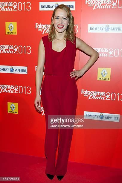 Marta Larralde attends 'Fotogramas Awards' 2013 at Teatro Joy Eslava on February 24 2014 in Madrid Spain