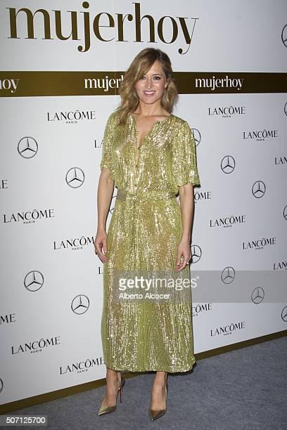 Marta Larralde attends 'Mujer Hoy' Awards 2016 on January 27 2016 in Madrid Spain