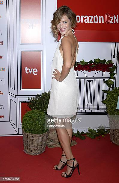 Marta Larralde attends the 2015 Corazon Solidario Awards at the Miguel Angel Hotel on July 8 2015 in Madrid Spain