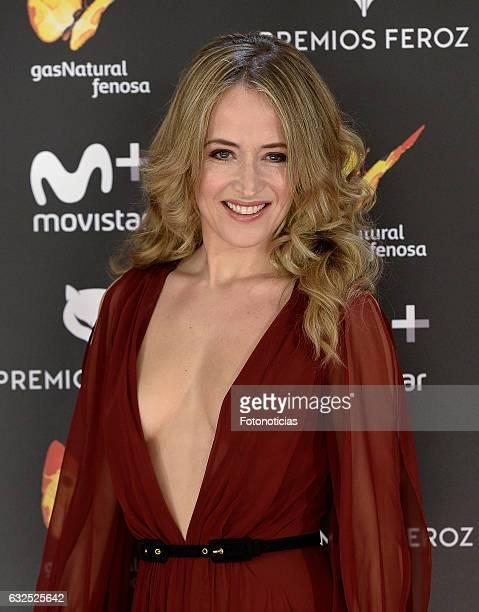 Marta Larralde attends the 2016 Feroz Awards ceremony at the Palacete de los Duques de Pastrana on January 23 2017 in Madrid Spain