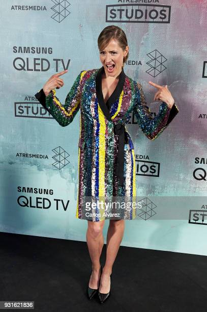Marta Larralde attends the Atresmedia Studios photocall at the Barcelo Theater on March 13 2018 in Madrid Spain