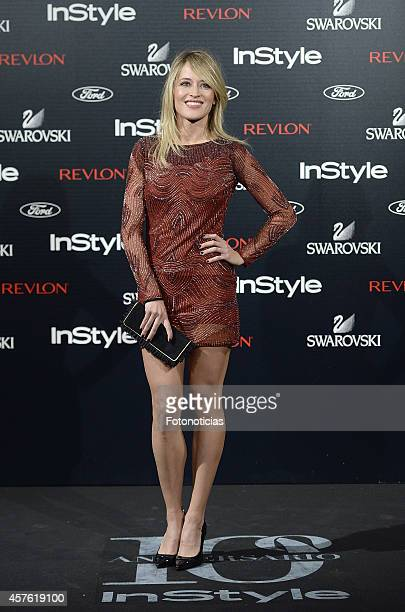 Marta Larralde attends the InStyle Magazine 10th anniversary party at Gran Melia Fenix Hotel on October 21 2014 in Madrid Spain