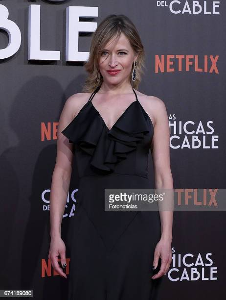 Marta Larralde attends the 'Las Chicas del Cable' Netflix Tv Series premiere at Callao Cinema on April 27 2017 in Madrid Spain
