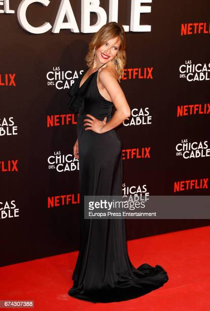 Marta Larralde attends the premiere of Netflix's 'Las Chicas del Cable' on April 27 2017 in Madrid Spain