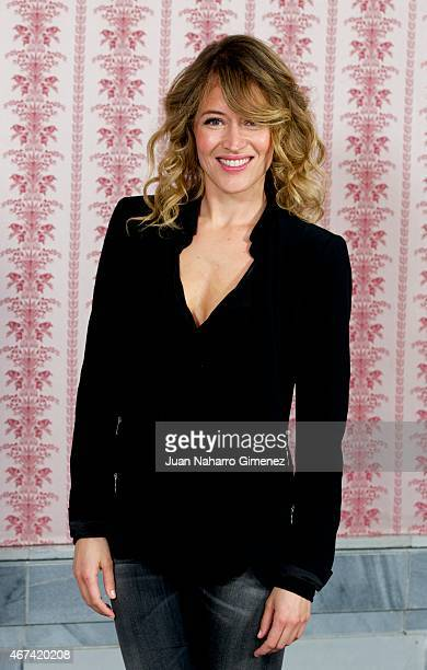 Marta Larralde attends the 'Seis Hermanas' photocall during FesTVal Murcia 2015 on March 24 2015 in Murcia Spain