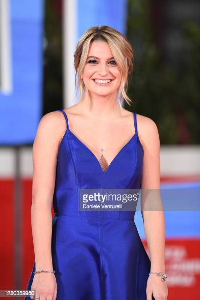 "Marta Losito attends the red carpet of the movie ""Soul"" during the 15th Rome Film Festival on October 15, 2020 in Rome, Italy."