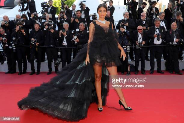 Marta Lozano attends the screening of Capharnaum during the 71st annual Cannes Film Festival at Palais des Festivals on May 17 2018 in Cannes France