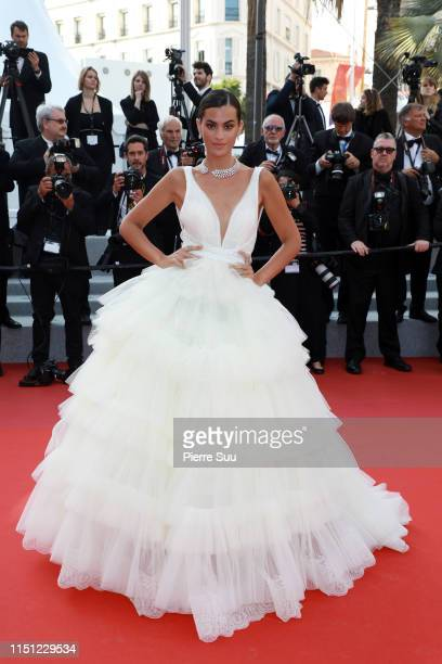 Marta Lozano attends the screening of The Traitor during the 72nd annual Cannes Film Festival on May 23 2019 in Cannes France