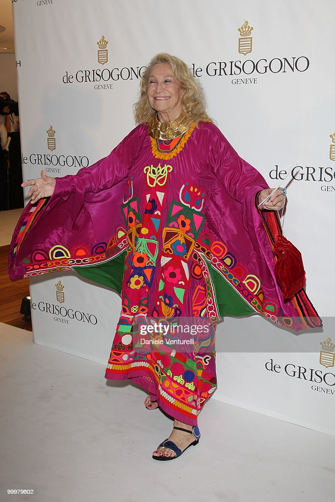 Marta Marzotto attends the de Grisogono party at the Hotel Du Cap on May 18, 2010 in Cap D'Antibes, France.