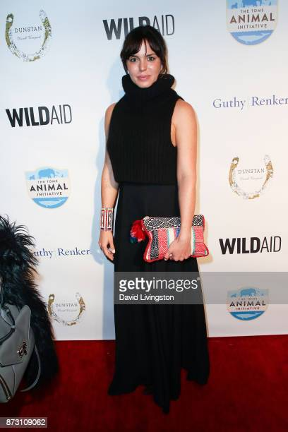 Marta Milans arrives at the Evening with WildAid at the Beverly Wilshire Four Seasons Hotel on November 11 2017 in Beverly Hills California